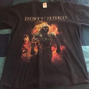 Disturbed tour T-shirt